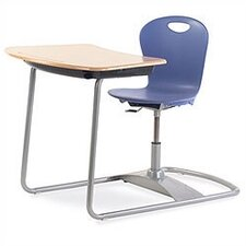Zuma Plastic Adjustable Height Combo Desk
