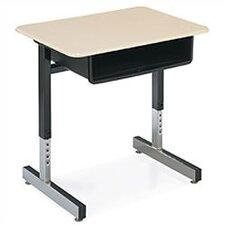 8700 Series Laminate Adjustable Height Open Front Desk