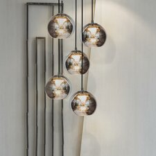 Kubric 5 Light Globe Pendant