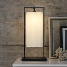 "Athena 23.6"" H Table Lamp with Oval Shade"