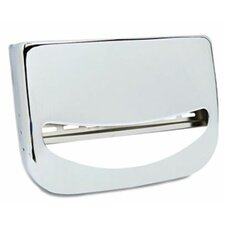 Wall-Mounted Toilet Seat Cover Dispenser, Chrome, 1 EA