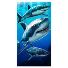 Open Box Price Sharks Beach Towel