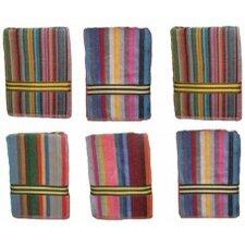Candy Stripe Velour Beach Towel