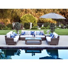 Palisades 6 Piece Deep Seating Group with Cushions