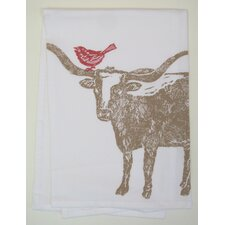 Longhorn Kitchen Towel