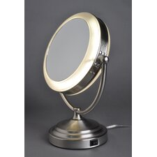 8x/1x Lighted Vanity Mirror without Outlet