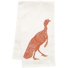 Organic Block Print Turkey Towel