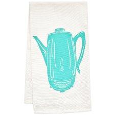 Organic Coffee Percolator Tea Towel