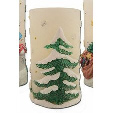 Holiday Bliss Tree Flameless Novelty Candle