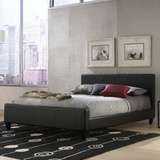 Euro Upholstered Panel Bed