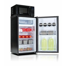 Safe Plug 3.6 cu. ft. Combination Mini Refrigerator and Microwave