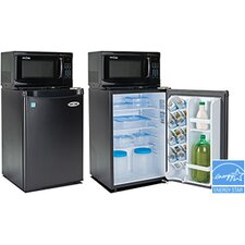 Snackmate 2.6 cu. ft. Combination Mini Refrigerator and Microwave
