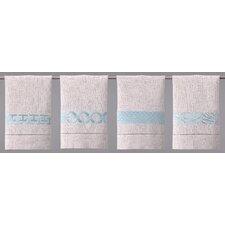 Guest Towels Robin's Egg Linen Hand Towel (Set of 4)