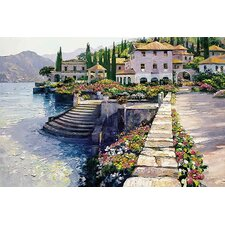 Stairway to Carlotta by Howard Behrens Painting Print on Canvas
