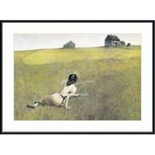 Christina's World by Andrew Wyeth Framed Painting Print