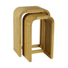 2-tlg. Satztisch-Set Cadence Oak