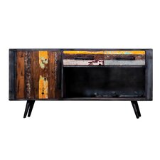TV-Lowboard Recycled Boat