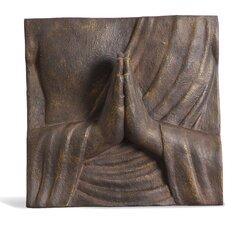 "Faserverbundwerkstoff Buddha Hände ""Anjali"""