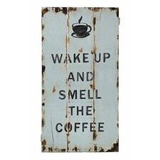 """Schild """"Cabin Tamarit Coffee"""", Typografische Kunst"""