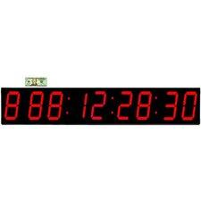 "Huge 7"" Digit LED 1000 Day Event Timer Countdown Clock"
