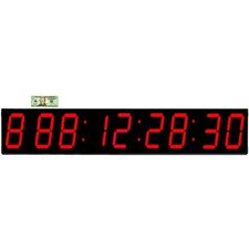 "Huge 7"" Digit LED 1000 Day Event Timer Countdown Clock"