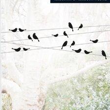 Good Morning Birdies Window Sticker