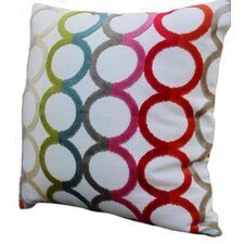 Modern Circles Throw Pillow