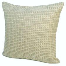 Island Protege Grid Linen Throw Pillow