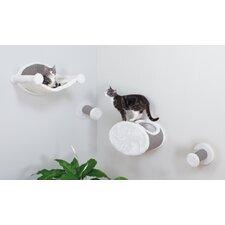 4 Piece Wall-Mounted Cat Lounging Set