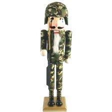 "15"" Army II Nutcracker"