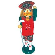 "14"" Golfer Nutcracker"
