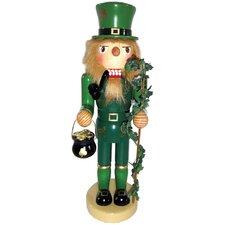 "12"" Irish Leprechaun Nutcracker"