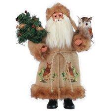 Night Watchman Santa Figurine