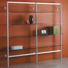 """Envision 84"""" Accent Shelves Bookcase"""