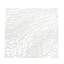 """10.6"""" x 10.6"""" Abstract Room Divider"""