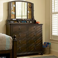 Paula Deen Kids 8 Drawer Media Chest