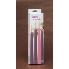 Advent Taper Candles (Set of 4)