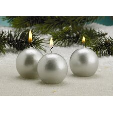 Metallic Candles (Set of 12)