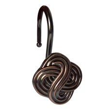 Gaelic Knot Shower Hooks (Set of 12)