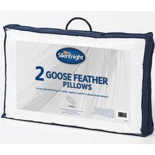 Goose Feather Standard Pillow (Set of 2) (Set of 2)