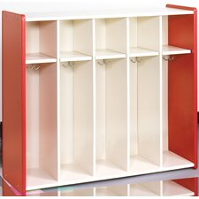 1000 Series 5-Section Cubbie Toddler Locker