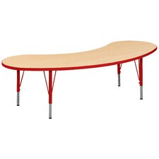 "Play 72"" x 24"" Kidney Activity Table"
