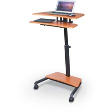 Up-Rite AV Cart with Sit/Stand Desk