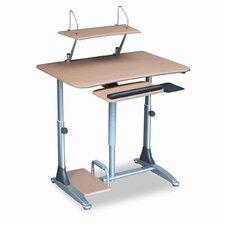 BALT® Ergo Sit/Stand Workstation AV Cart