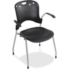 Circulation Mid-Back Task Chair Optional Arms