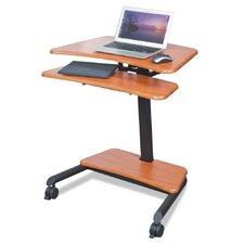 Up-Rite Mobile Sit/Stand Workstation AV Cart