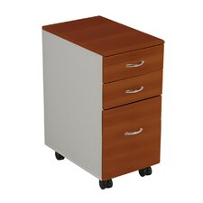 iFlex 3-Drawer Mobile File Cabinet