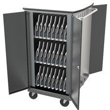 16-Compartment Tablet Charging Cart