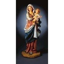 """20"""" Madonna and Child Figurine"""