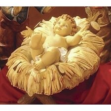 Scale Resin Cradle for Infant Jesus Christmas Decoration